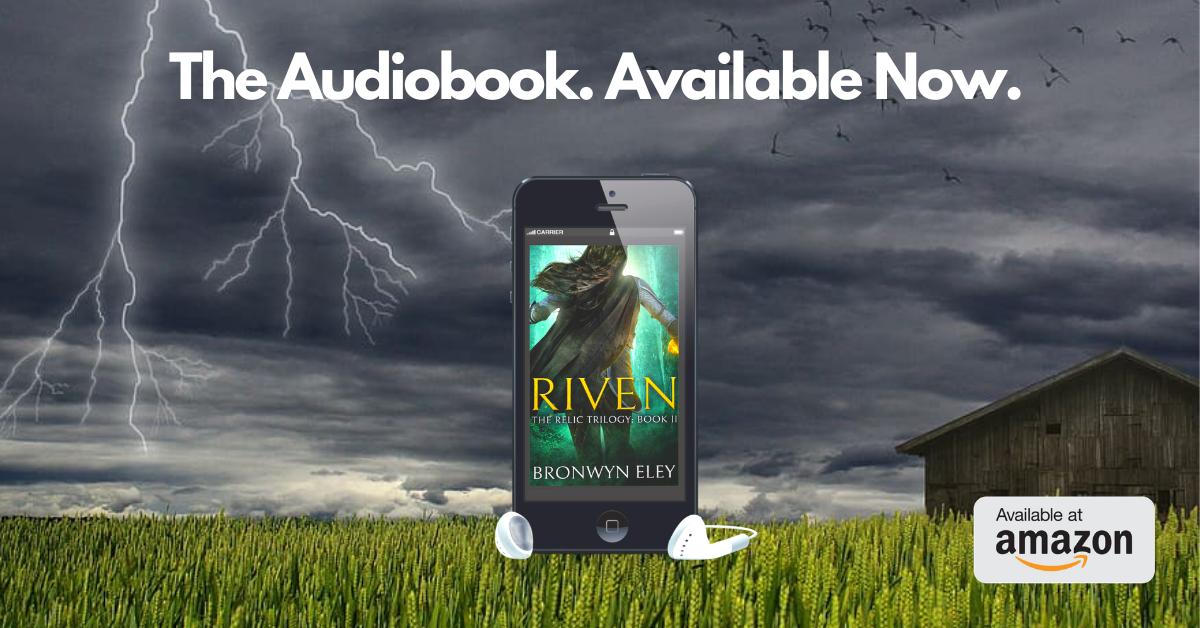 RIVEN Audio Launch Graphic