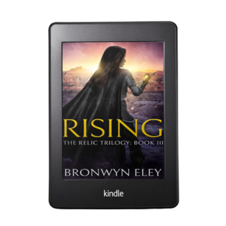Rising, The Relic Trilogy Book 3 Kindle Cover