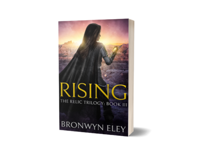 Rising The Relic Trilogy Book 3 Print Cover